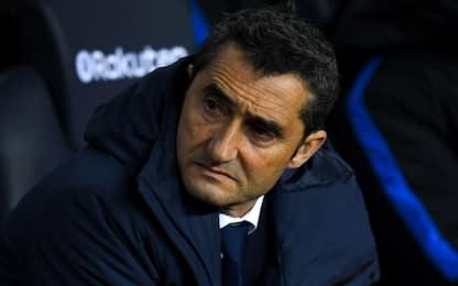 """Valverde: """"Messi ha qualche fastidio, ma è sereno"""""""