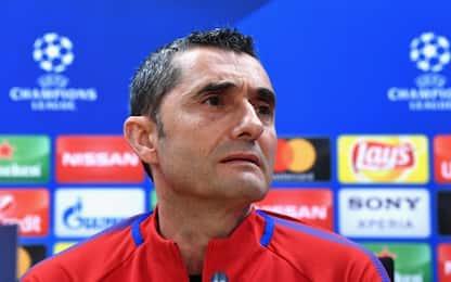 """Valverde: """"André Gomes è stato coraggioso"""""""
