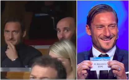 Totti show, predice Juve-Real. E quella risata...