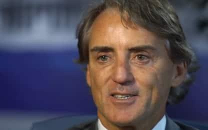 "Mancini: ""Italia mi manchi. Io Ct? Straordinario"""
