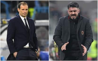 "Caressa: ""Juve e Milan ripartite dalla difesa"""
