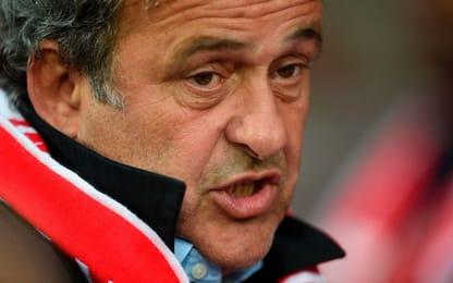 """Platini: """"Complotto per negarmi presidenza Fifa"""""""