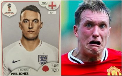 Inghilterra, la figurina di Phil Jones è un caso