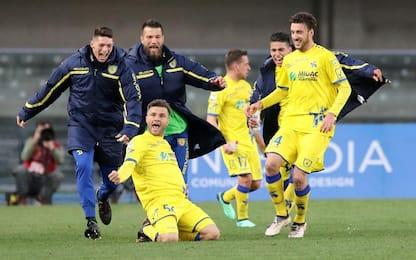 Il Chievo riparte: 2-1 in rimonta con la Samp