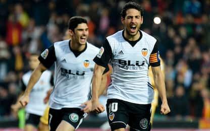 Vince l'Atletico, Parejo trascina il Valencia