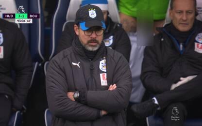Huddersfield, incidente hot in diretta tv