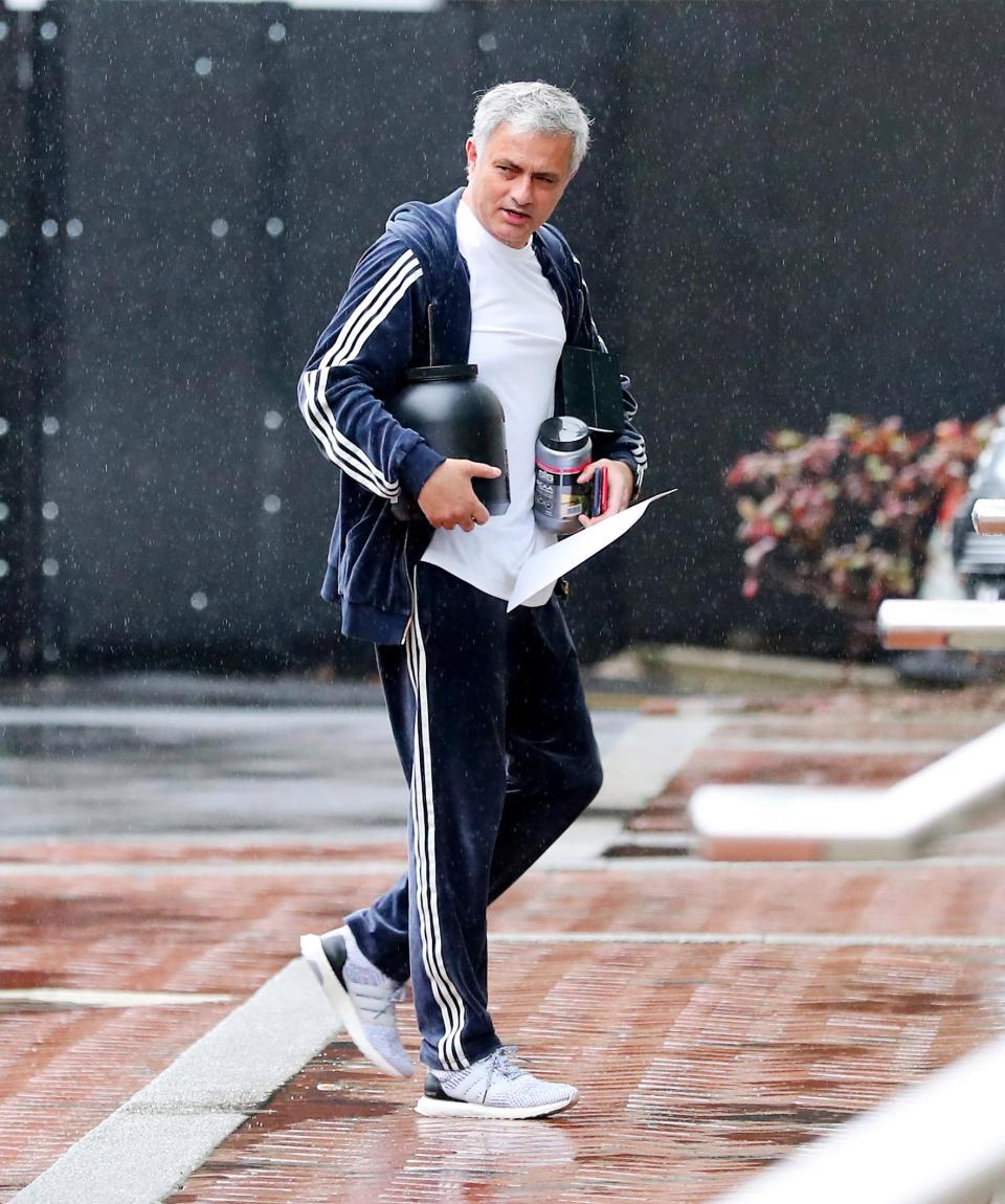 Mourinho (Ph Eamonn and James Clarke)