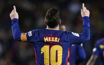 Tris di Messi, Barça da record: 3-1 al Leganés