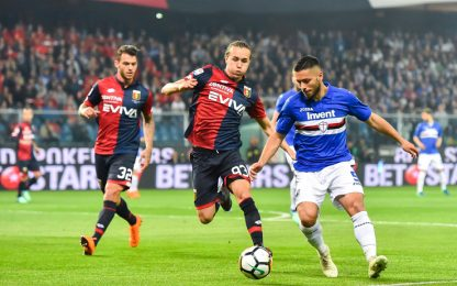 Nessun gol sotto la Lanterna: Samp-Genoa 0-0