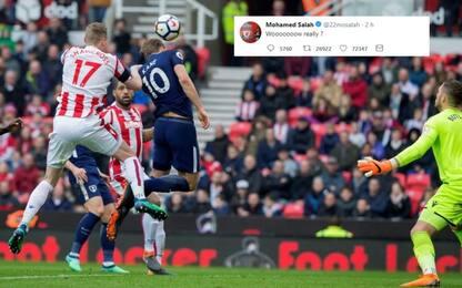Kane, la Premier gli assegna un gol. Ma Salah...