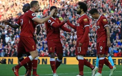 Il Liverpool spaventa la Roma, Bournemouth ko 3-0