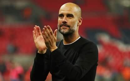 City, discorso commovente di Guardiola allo staff