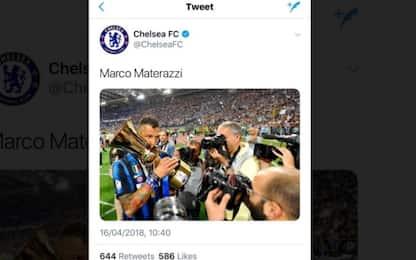 Chelsea, ma che fai? Su Twitter spunta Materazzi