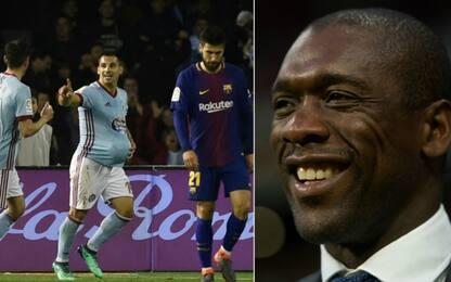 Il Barça frena a Vigo, Seedorf-Montella senza gol