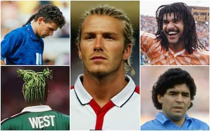 Da Becks a Diego, quando i capelli diventano icona