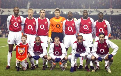 Arsenal degli Invincibili, una squadra da leggenda