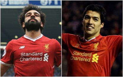 Salah come Suarez: eguagliati anche Shearer e CR7