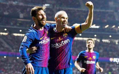 Barça: un punto ed è Liga, ma sarà trionfo a metà