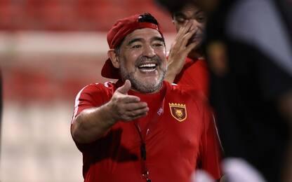 Maradona allenatore-presidente della Dinamo Brest