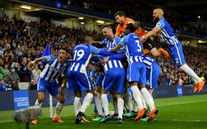 Gross trascina il Brighton, 1-0 allo United