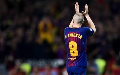 Barça-Real, Clásico senza pasillo: ma Iniesta...