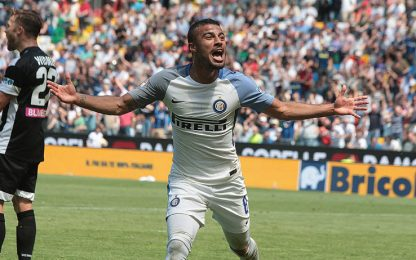 Inter, poker a Udine. In gol anche Rafinha