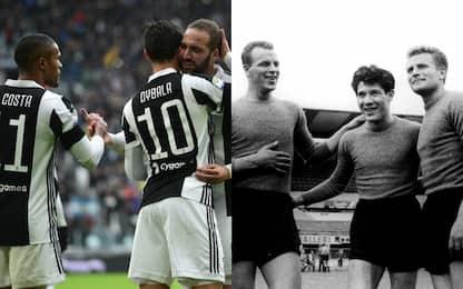 """Juventus, attacco record: numeri da """"Trio Magico"""""""
