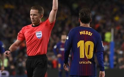 Pressioni all'arbitro? Lo staff di Messi smentisce