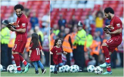 Momo vs figlia: fischi e risate ad Anfield. VIDEO