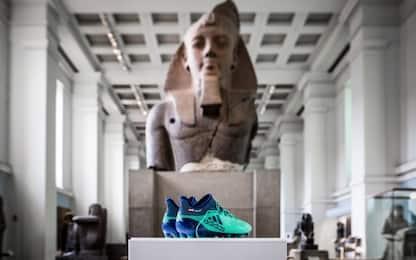 Salah è storia: le sue scarpe al British Museum