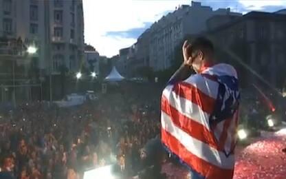 Torres saluta l'Atletico: addio social da brividi