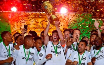 Germania, l'Eintracht vince la Coppa: Bayern ko