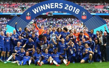 Chelsea, basta Hazard: United ko, FA Cup a Conte