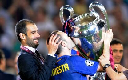 """Guardiola a Iniesta: """"Il Barça avrà bisogno di te"""""""