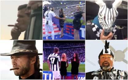 Zebre, sigari e playboy: l'altra festa della Juve