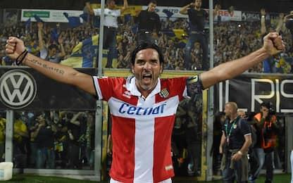 """Lucarelli: """"Orgoglioso di aver portato Parma in A"""""""