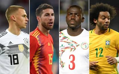I 10 migliori difensori ai Mondiali 2018