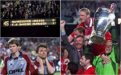 Accadde oggi: tre minuti folli tra United e Bayern