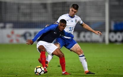 U21, a Dembelé risponde Capone: Francia-Italia 1-1