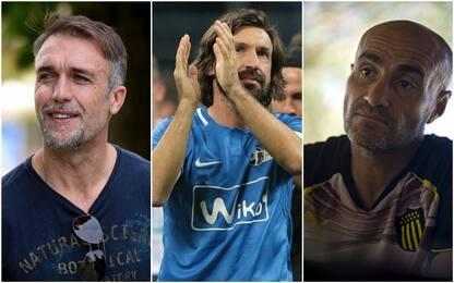 Da Montero a Pirlo: futuri allenatori a Coverciano