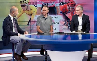"""Froome: """"Giro gara dura, Tour per me più facile"""""""