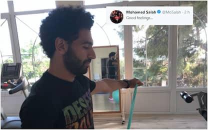 """Salah fa sorridere l'Egitto: """"Buone sensazioni"""""""