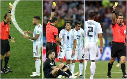 Argentina out, la colpa potrebbe essere dei gialli