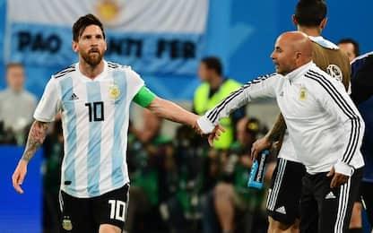 """""""Io, Messi e l'Argentina"""", le verità di Sampaoli"""