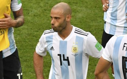 Mascherano, addio Argentina: lascia con un record