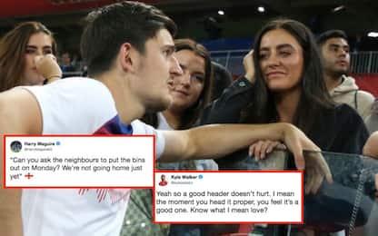 """Maguire fa lo """"spaccone"""", e la foto diventa virale"""
