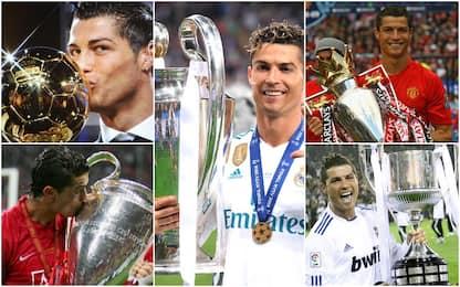 Ronaldo, una carriera da Re di Coppe