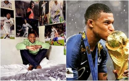 Mbappé, il ragazzino che ha avverato i suoi sogni
