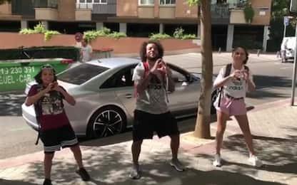 #InMyFeelings, Marcelo scatenato a passo di danza