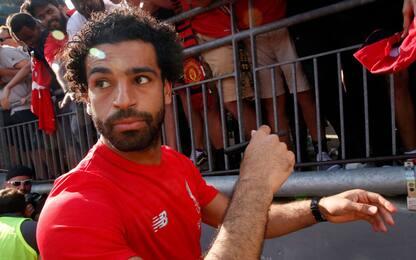 Cellulare alla guida, il Liverpool denuncia Salah